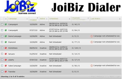 JoiBiz Predictive Dialer